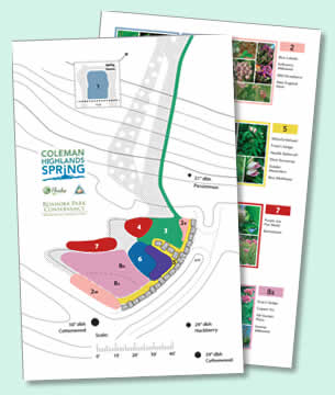 Click for a pdf of the 2015 Spring Area Planting Plan (2.5mb)
