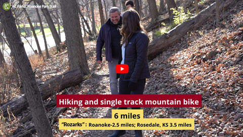 CLICK TO WATCH: Roanoke Park 12 Trails for the Holidays
